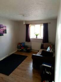 2 bed 1st floor flat for swap in west moors