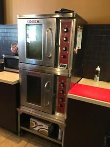 VULCAN Double Stack CONVECTION OVENS - Sold By AUCTION - OCT 17 - STOREY'S -