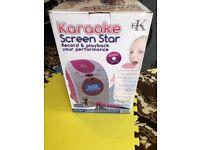 Like New Easy Karaoke EKG15T Karaoke Screen Star Machine