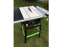 Evolution fury tablesaw 240 volt
