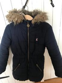 Joules Girls jacket age 6