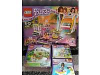 Lego Friends 1 large, 1 medium 2 small sets