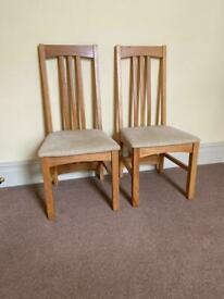 2 Multiyork High Back Dining Chairs
