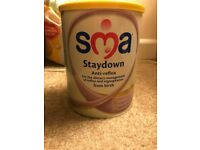 sma staydown milk