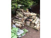 Fireplace wood