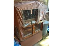 Small animal Wooden Hutch