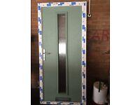 NEW COMPOSITE FRONT DOOR --SECEND HAND--