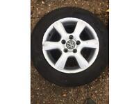 15inch Volkswagen Touran Alloy Wheels