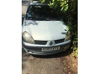 Renault Clio 1.2 .. 16 v 3Door hatch 2003 mod