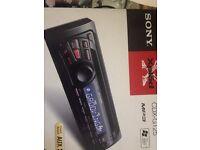 Sony car radio/cd player. Brand new.