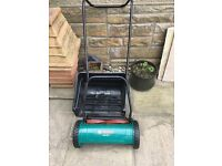 Bosch ahm 38g hand powered lawn mower