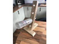 Custom made wooden wine / bottle rack