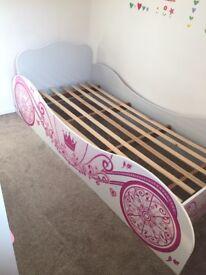 Princess Carriage Single Bed.
