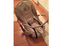 Hauck Deluxe Baby rocker / bungee seat.