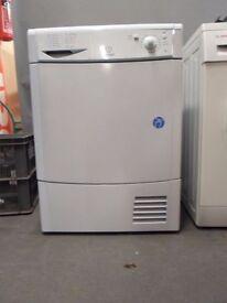 Indesit condenser Dryer IDC85/FS19943, 3 month warranty, delivery available in Devon/Cornwall