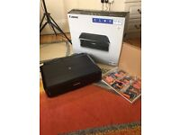 Barely used Canon Pixima iP7250 Printer with 3 sets of EXTRA inks.