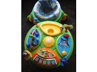 Bright Starts Baby Walker Table activity centre