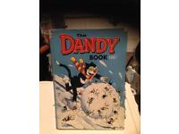 Dandy comic annuals; 1967, 1977, 1984, 1988 - 50th anniversary edition.