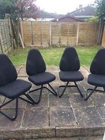 4 office / dining chairs -