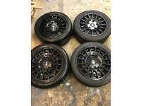 """Ford transit OZ MRST alloy wheels 18"""""""