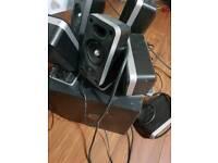 Logitech z5400 DD 5.1 THX DTS PC/Home Cinema speakers