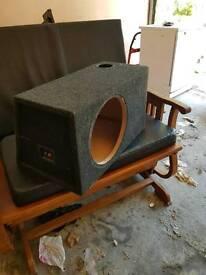 Sub woofer box 12 inch