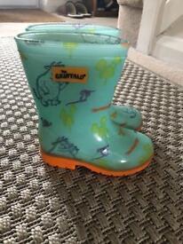 Gruffalo boots toddler 7