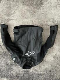 Alpinestars missle leather jacket black