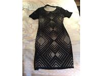 M&S fitted midi dress size 12