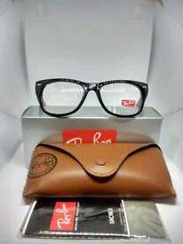 Ray-Ban wayfarer sunglasses clear
