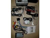 Car Sat Nav TV GPS USB SDcard MP5 Player