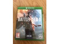battlefield 1 , as new , xbox one ! price stands , no offers ! will post !