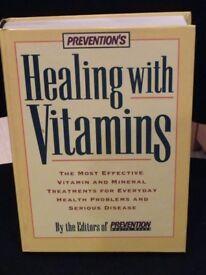Healing with Vitamins Hardback Book