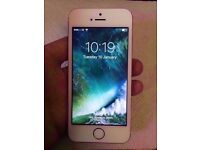 iPhone 5s 16gb White & Silver EE Sim Locked
