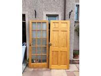 13 Pine Doors