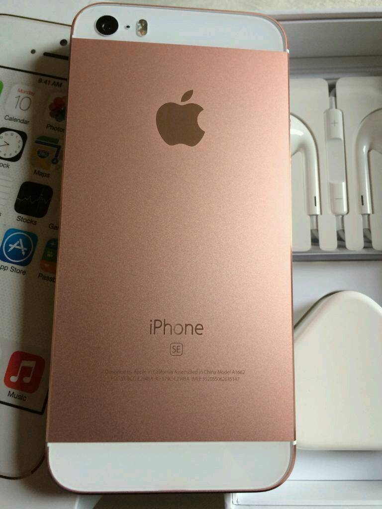 Iphone Se Rose Gold Used