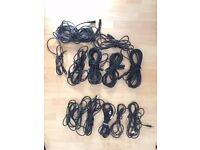 6 XLR to TRS Cables (0.5, 1, 2 meteres) & 7 XLR to XLR Cables (0.5, 1, 3, 4 meteres) - DMX CABLES