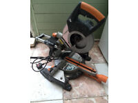 Evolution RAGE3-S+ Multi-Purpose Sliding Mitre Saw (for parts) not working