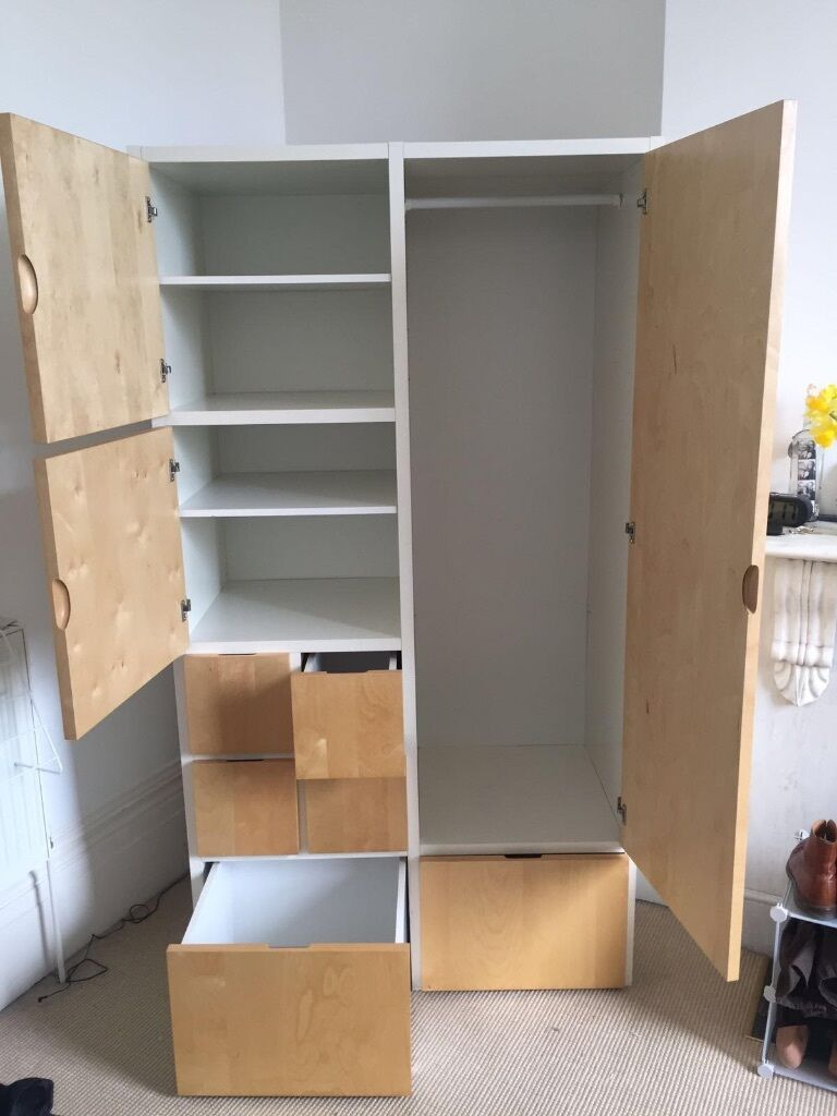 1 ikea rakke wardrobe 50 ono in hove east sussex gumtree. Black Bedroom Furniture Sets. Home Design Ideas