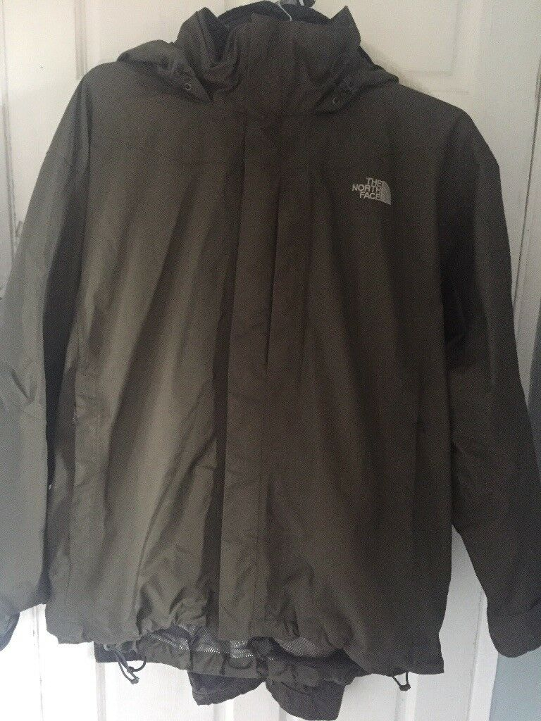 Size XL The North Face HyVent coat