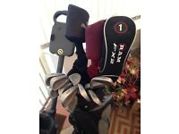 Golf Clubs, bags, tees and balls for sale (full list in description)