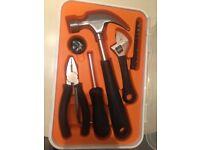 17 piece IKEA fixa tool kit