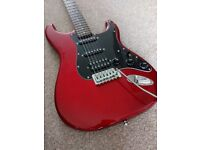 Fender squier/squire affinity HSS stratocaster guitar