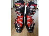 Salomon Energyzer Red ski boots uk size 11.5 /mondo 29.5