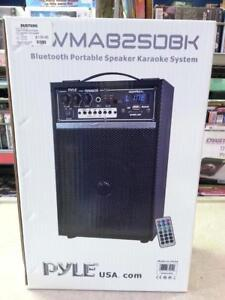 Pyle PWMAB250BK PA Speaker/Recharchable. We Sell Used Kareoke Systems. (#112926)