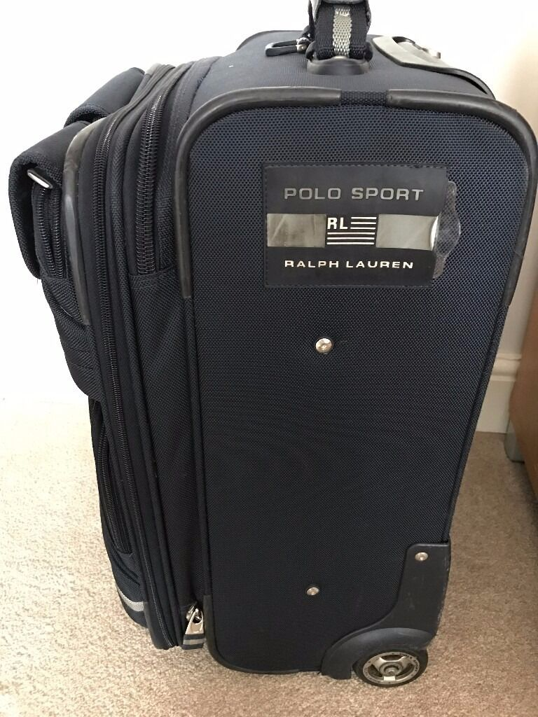 Ralph Lauren Polo Sport Suitcase Genuine In Raynes