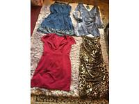 Ladies bundle dresses petite 5 items 3 new with tags 2 And used one time £12