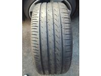 255 45 18 tyre in very good condition 6 mm tread