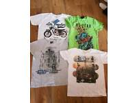 Boys summer t-shirts age 9-11