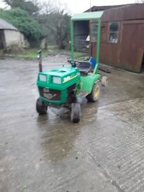 Ride on tractor no deck